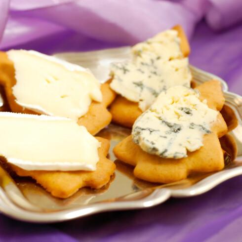 Med blåmuggost får pepperkakene en ny og spennende dimensjon.