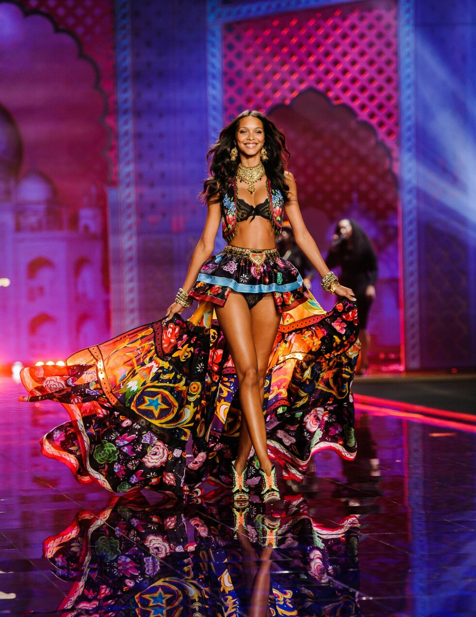 Victoria's Secret Fashion Show på Earls Court Exhibition Center i London. Foto: SartorialPhoto / Splash News/ Al