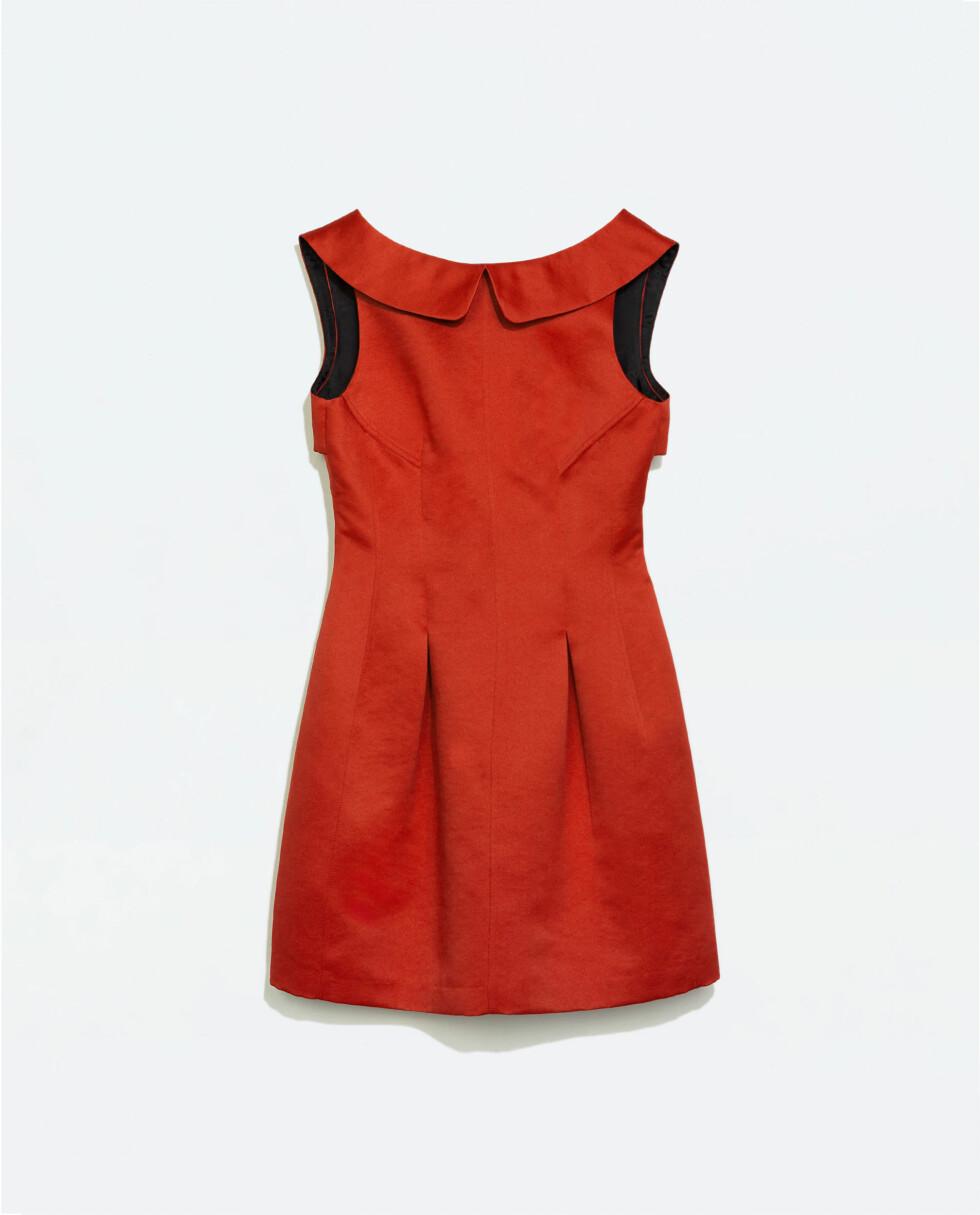 Kjole fra Zara, kr 559.  Foto: Produsentene