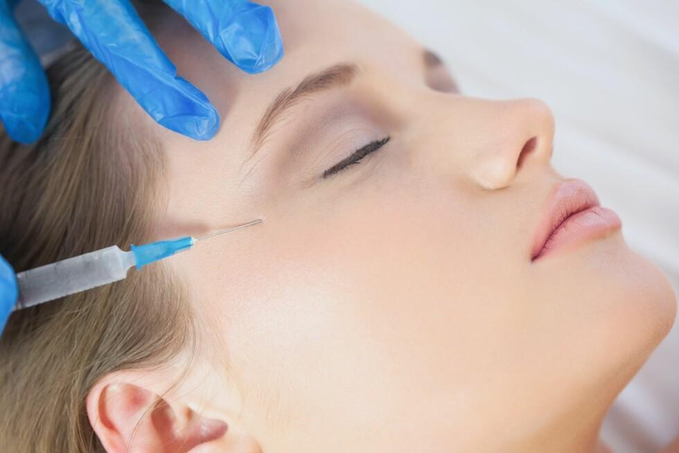 <strong>INGEN RYNKER ENNÅ:</strong> Likevel bruker en del unge kvinner mange tusen kroner på Botox, i håp om å holde framtidige rynker unna. Foto: All Over Press