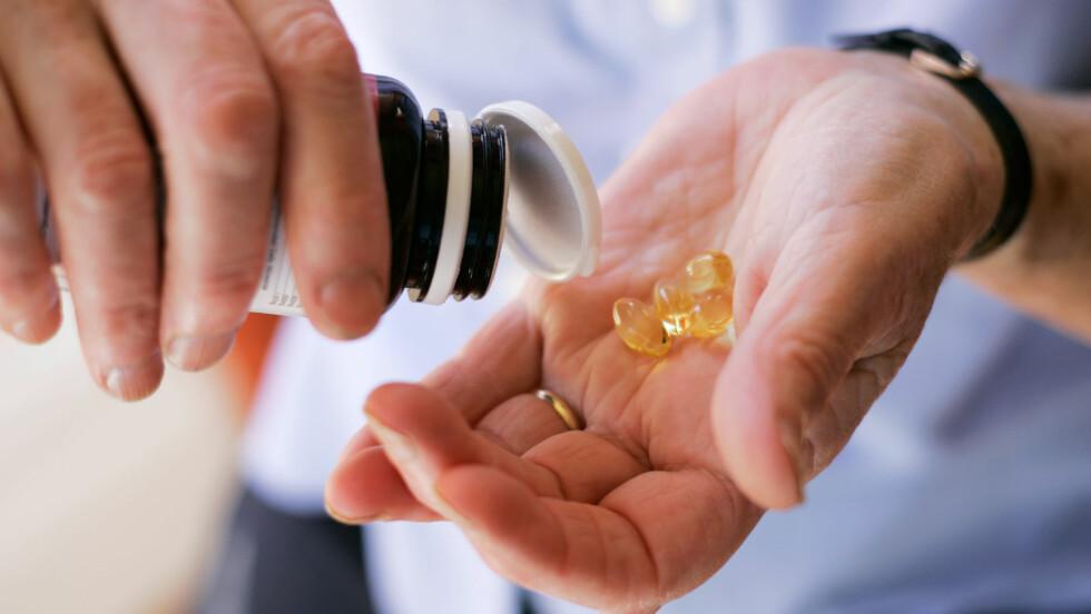 VITAMIN D-MANGEL: Nå, og i månedene framover, trenger vi ekstra tilskudd av vitamin D. Foto: All Over Press