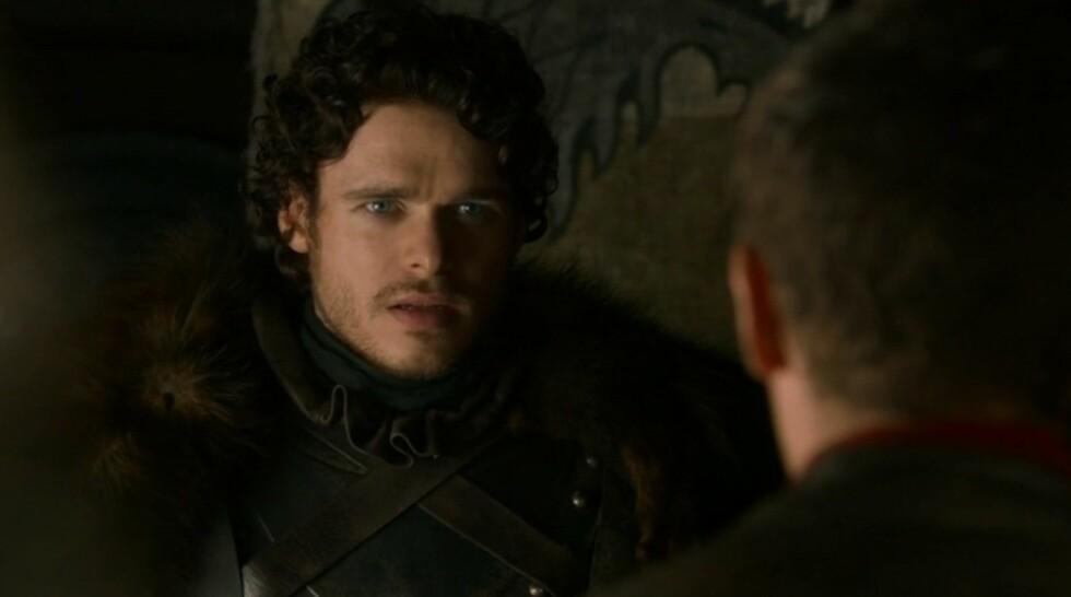 ROBB STARK: Richard Madden , som spiller prinsen i Askepott, er mest kjent for rollen som Kong Robb Stark i Game of Thrones.  Foto: Supplied by LMK