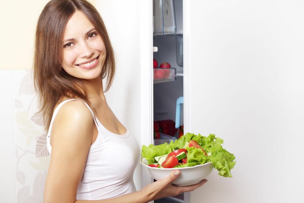 TEST DEG SELV: Finn ut om du kan bli mer opplagt av kostholdet ditt med Nycoplus' vitaminkalkulator - http://www.nycomed.no/vitaminkalkulator! Foto: Colourbox