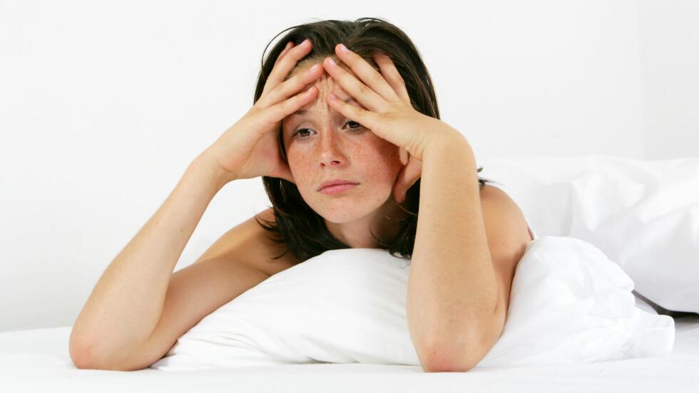ER DETTE DEG? Litt slapp og litt sliten, og skulle gjerne bare hvilt øynene bittelitt lenger om morgenen… Da kan det hende at du rett og slett mangler vitaminer. Foto: Agence DER - Fotolia