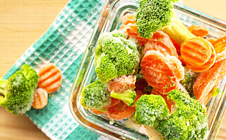 Er frosne grønnsaker er sunnere enn ferske?