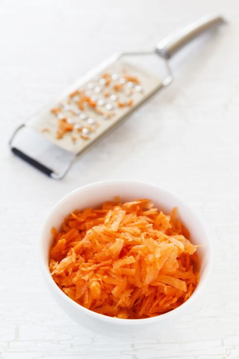 RASPET: Husk at det viktigste er å spise gulroten slik du synes den smaker best! Foto: All Over Press