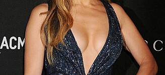 Jennifer Lopez (45) hadde kveldens dypeste utringning