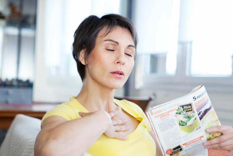 <strong>NORMALT:</strong> Overgangsalderen forårsaker lavere verdier av østrogen i kroppen, som blant annet fører med seg humørsvingninger, hetetokter og tørr skjede. Foto: BSIP SA / Alamy/All Over Press