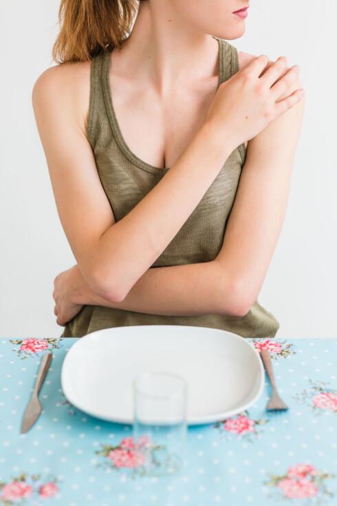 <strong>TYNN:</strong> Undervekt som følge av spiseforstyrrelser eller overdreven trening kan også føre til at man mister menstruasjon, og derfor også får lavere nivå av østrogen. Foto: REX/Voisin/Phanie/All Over Press