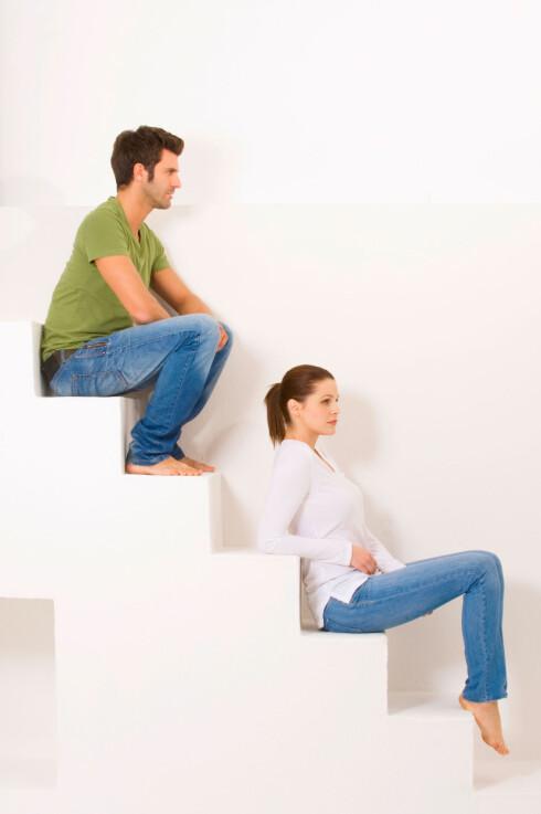 <strong>ULIKE:</strong> Har du og partneren din vokst fra hverandre? Det er ikke så uvanlig.  Foto: YAY Media AS / Alamy/All Over Press