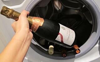Fest? Bruk vaskemaskinen som drikkekjøler!