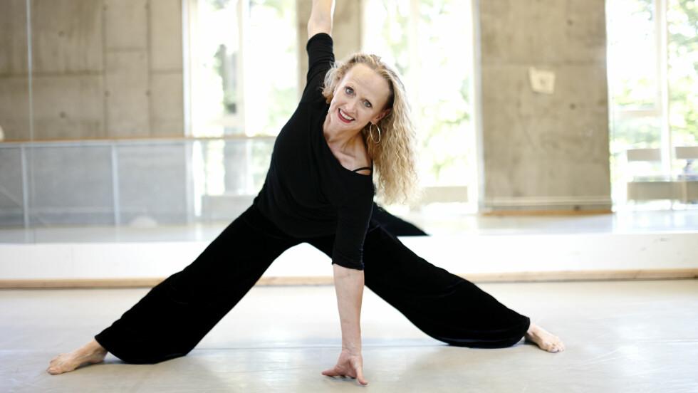 <strong>DANSER:</strong> - Det er gammeldags å la seg begrense av alder, mener danser Nina Lill Svendsen. Som med dansernes pensjonsalder på 42 år, strengt tatt kunne ha gått av med pensjon for femten år siden.  Foto: Geir Dokken / All Over Press Norway