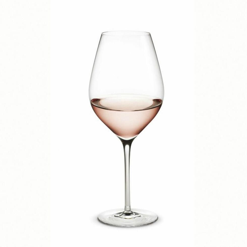 MYE FOR PENGENE: «Cabernet» fra Holmegaard (25 cl, men kommer i alle varianter) får du for 500 kroner per 6 glass hos room21.no. Foto: Produsentene