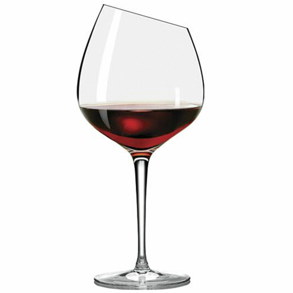 EKSTRA FIN: «Burgundy»glass far Eva Trio er som navnet tilsier beregnet på de ekstra fyldige og fine vinene (kroner 225, ilumsbolighus.no). Foto: Produsentene