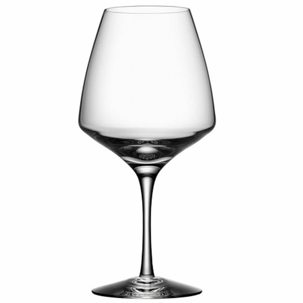 PULSE: Elegante «Pulse» fra Orrefors gjør jobben (kroner 430 for fire glass, royaldesign.no). Foto: Produsentene