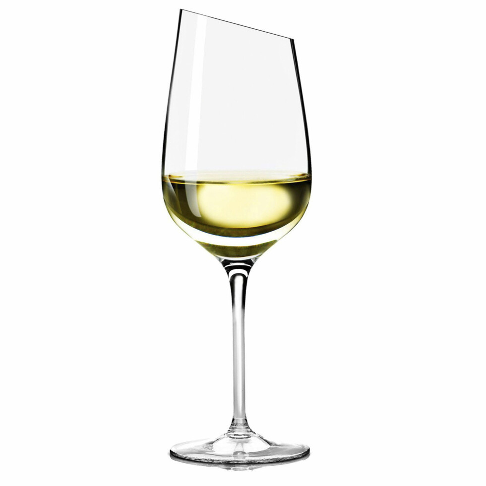 HVIT: Riesling-glass far EvaTrio (kroner 285, ilumsbolighus.no). Foto: Produsentene