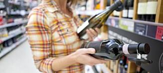 Velg tørr vin hvis du er opptatt av vekt