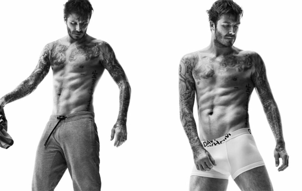 David blir mer og mer sexy!