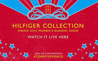Se Tommy Hilfigers visning live fra New York!