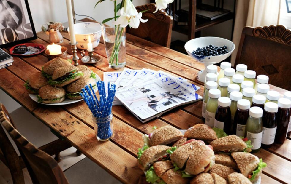 STYLEinteriør-frokost hos Gitte Witt!