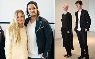 Maria Skappel designer klær med kjæresten