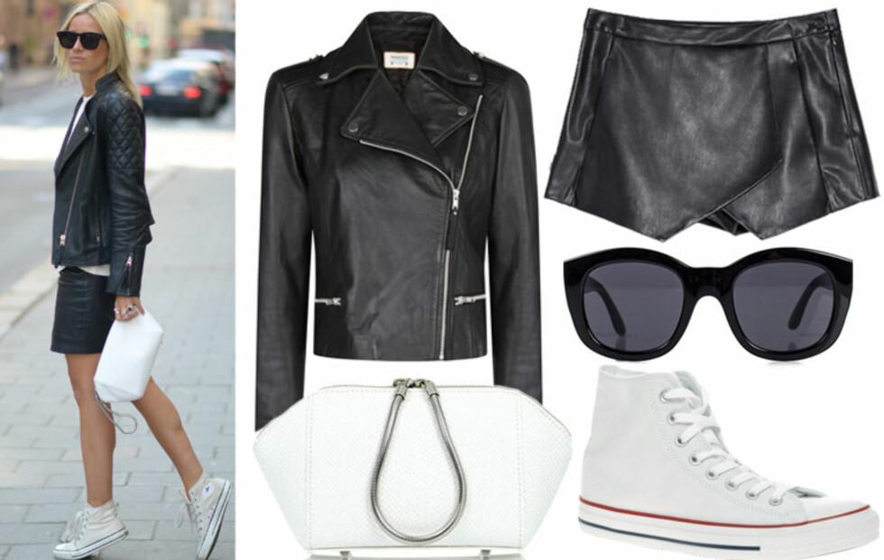 Slik styler Celine de klassiske Converse-skoene