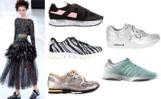 Sneakers har aldri vært så glamorøst!