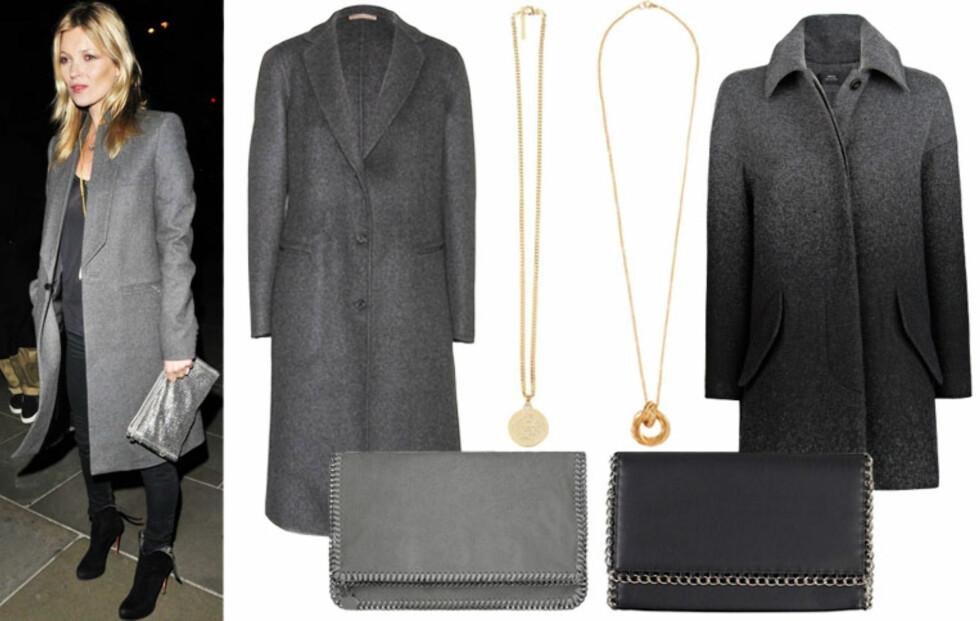 Luksus vs. budsjett: Kopier Kate Moss sitt antrekk