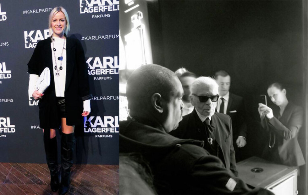 Karl skapte kaos i Paris!