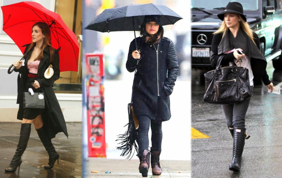 Slik kler du deg i regnværet
