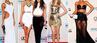 Se stjernenes dristige American Music Awards-antrekk