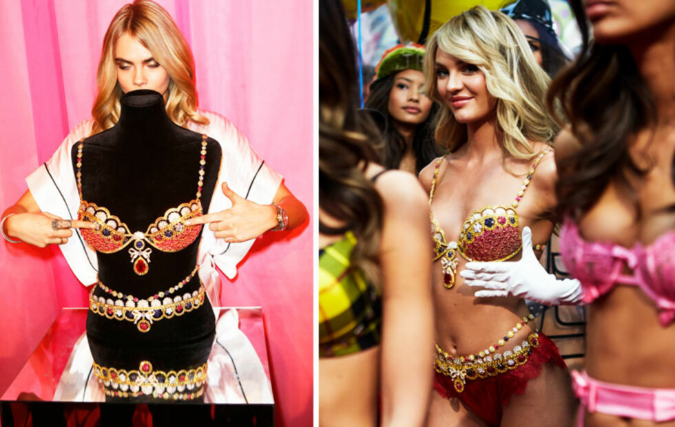 Se backstagebildene fra Victoria's Secret Fashion Show