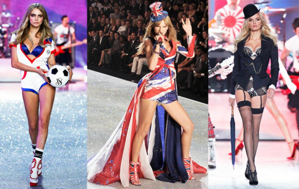 Se sexy undertøy og glitrende sceneshow fra årets Victoria's Secret Fashion Show!