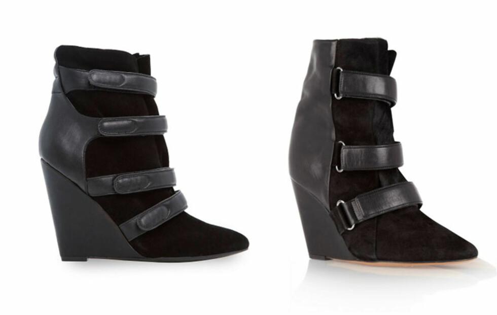 Nesten 7500 kroner skiller disse skoene fra hverandre