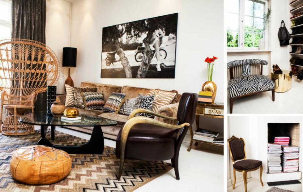 Moderne interiør møter historiske elementer hjemme hos Elisabeth