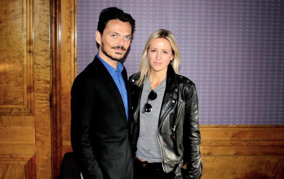 Stjernedesigner festet natten lang med Kathrine Sørland