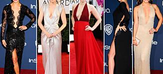 Dype utringninger og mye hud på Golden Globe-utdelingen