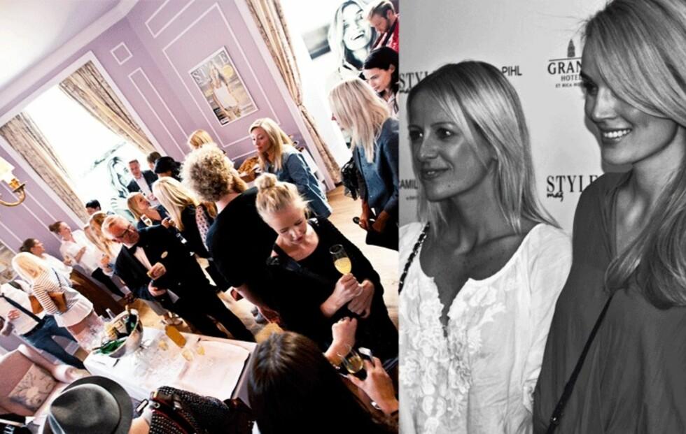 STYLEmag og Camilla Pihl feiret lanseringer side om side