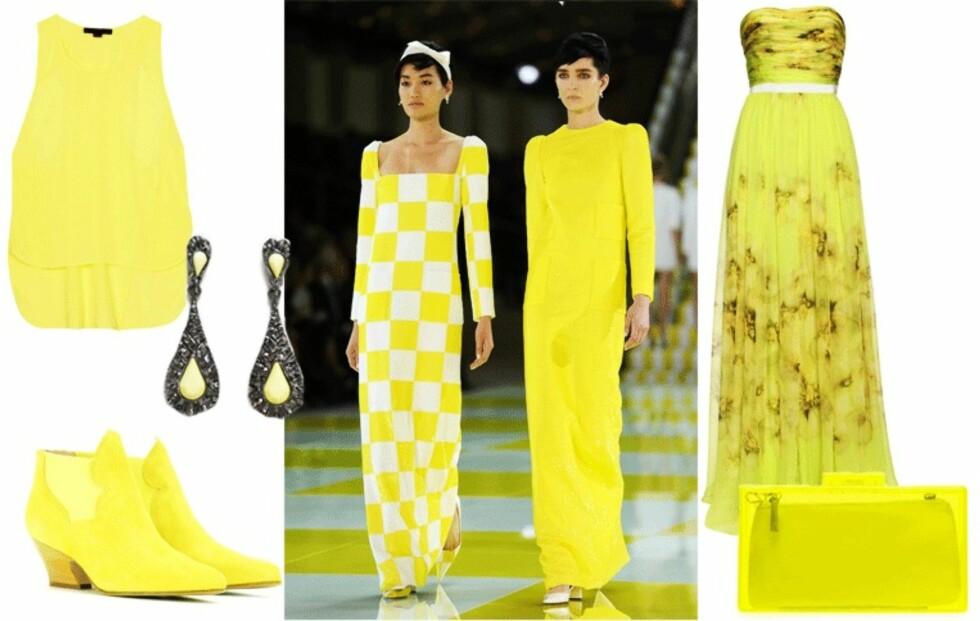 Nå skal du kle deg i gult. Vi har funnet 16 gule drømmeplagg!