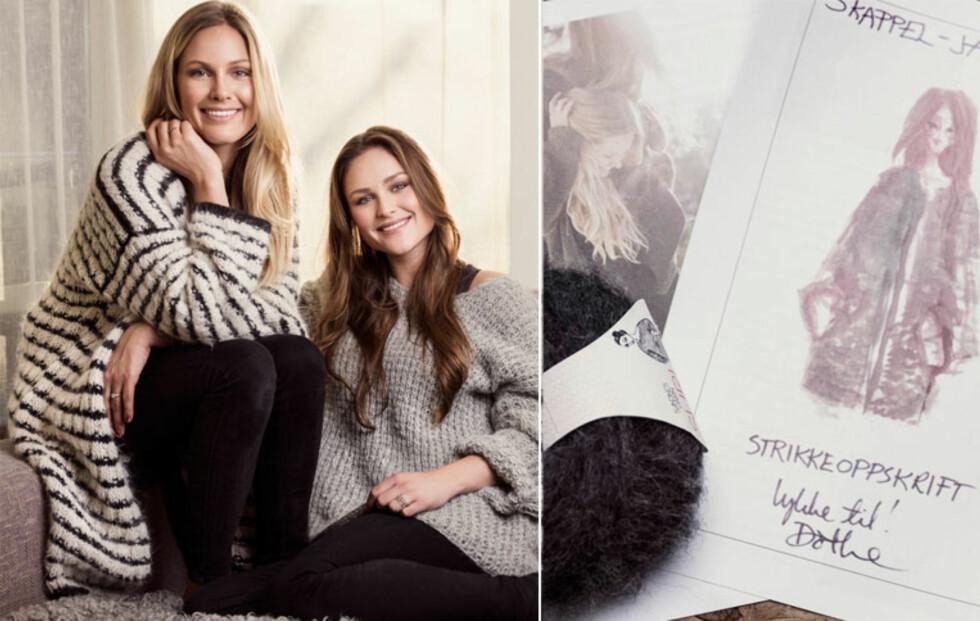 Søstrene Skappel skaper ny strikkebølge!
