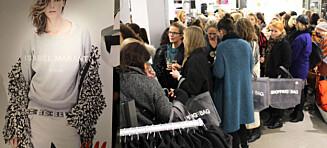 Kaos på preshopping av Isabel Marants H&M-kolleksjon!