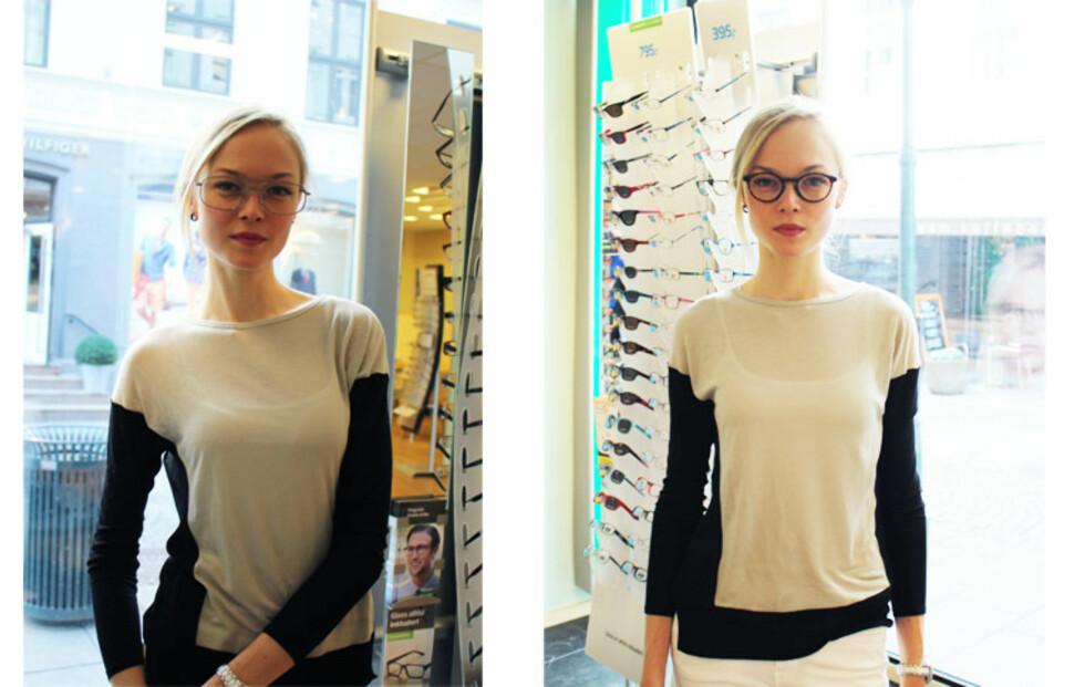 Siri Tollerød jakter på Norges nye brillemodell!