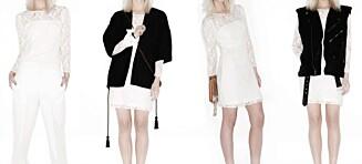 Slik styler du én blondekjole i fire forskjellige antrekk