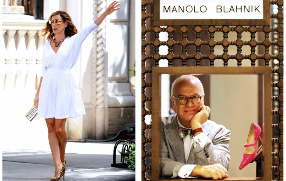 Sara Jessica Parker gjestedesigner for Manolo Blahnik