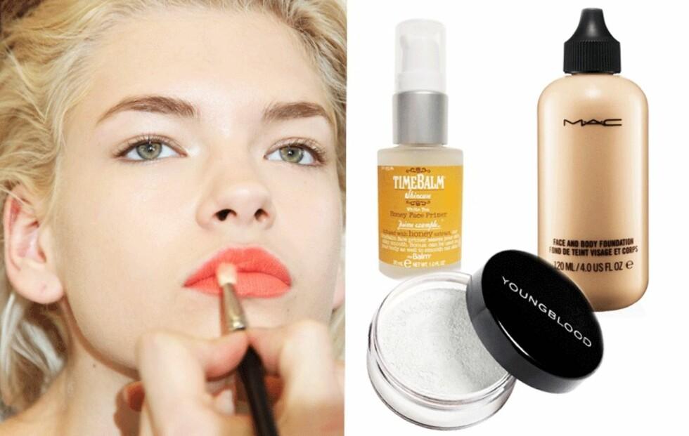 Få en makeup som holder hele dagen!