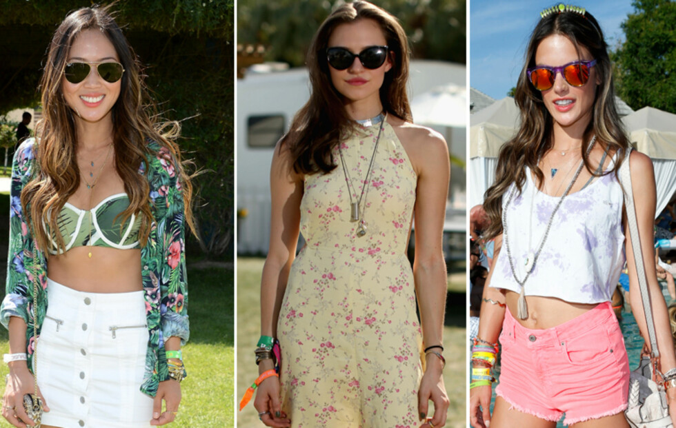 Hippie-steming på Coachella-festivalen