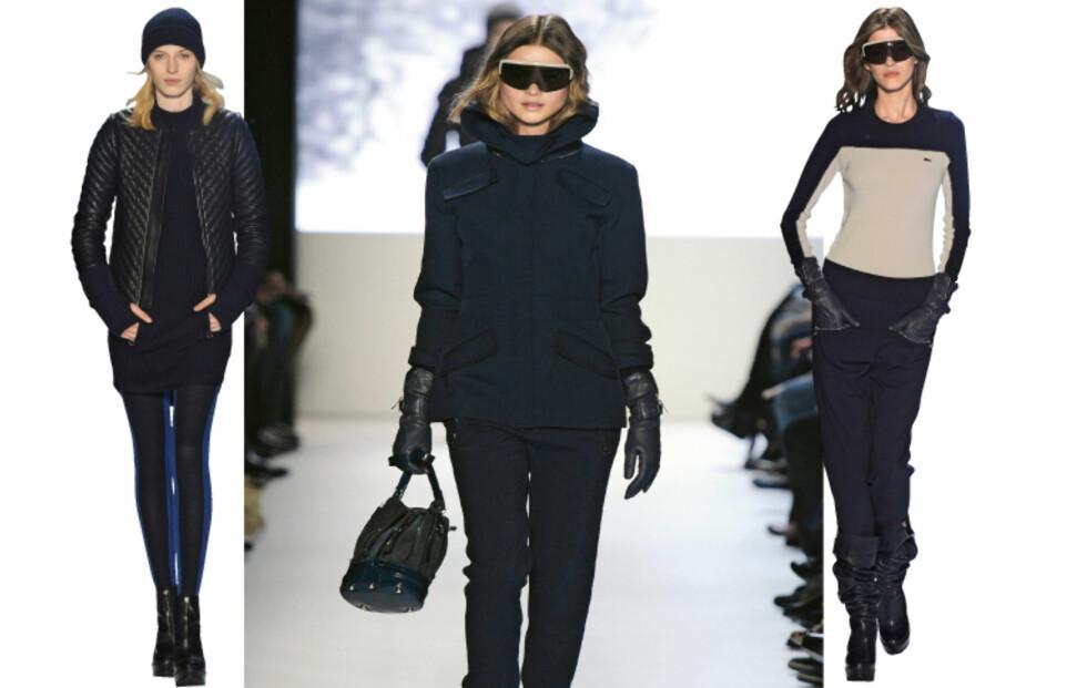 Sporty minimalistisk vinter-look