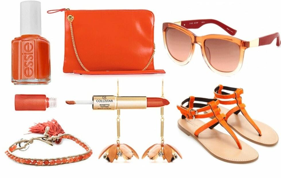 Sommeren er tiden for å kle seg i oransje!