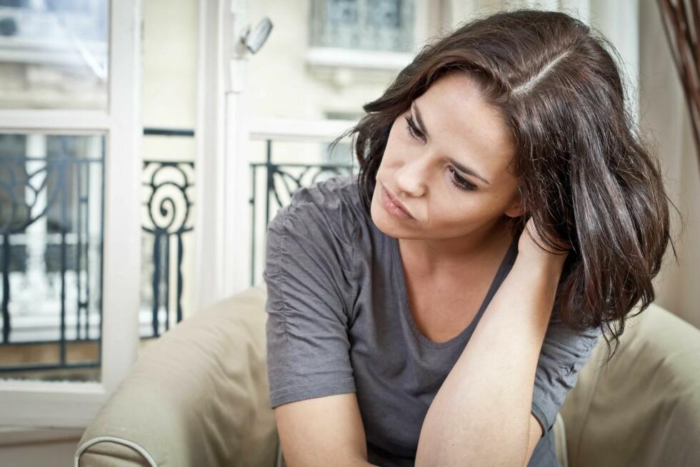 DU BESTEMMER: – De tankene du fokuserer på, får størst plass i livet ditt, sier Christine Otterstad, og framhever at det er du selv som avgjør hvor stor plass bekymringene skal ta. Foto: Fotolia