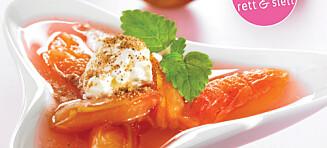 Plommesuppen som er perfekt til dessert